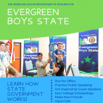 Image of Boys State recruitment flyer
